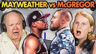 Elders React to Mayweather Vs. McGregor (Money Fight)
