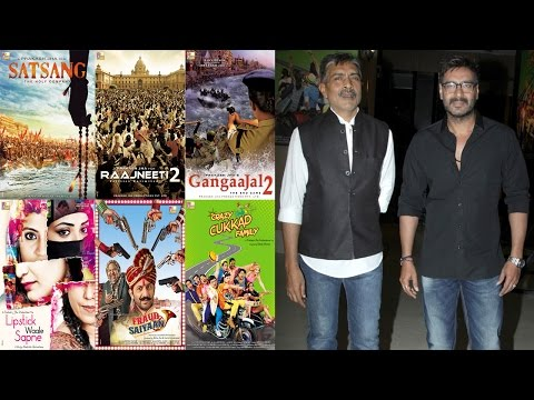 Prakash Jha Announcing His Upcoming Projects With Ajay Devgan & More