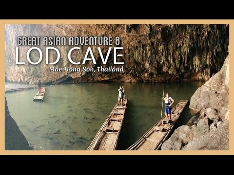 INSIDE LOD CAVE - Great Asian Adventure 8 (видео)