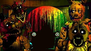 I BEAT NIGHTMARE MODE!!  | Five Nights At Freddy's 3 Jumpscares (FNAF 3 Part 3)