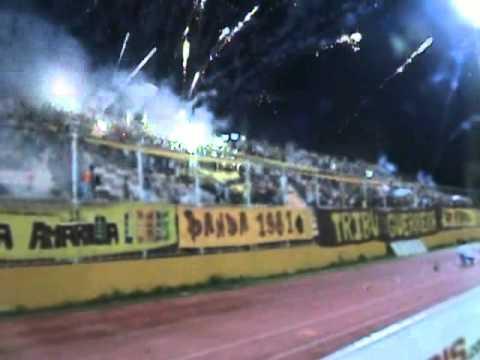 TRIBU GUERRERA Salida 4tos de final Copa Vzla 2012 - Tribu Guerrera - Trujillanos