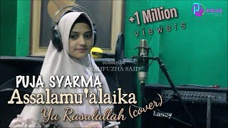 Video Assalamu'alaika (Cover) Puja Syarma MP3, 3GP, MP4, WEBM, AVI, FLV Oktober 2018