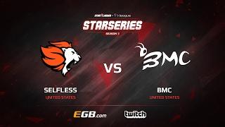 Selfless vs BMC, map 2 mirage, SL i-League StarSeries Season 3 NA Qualifier