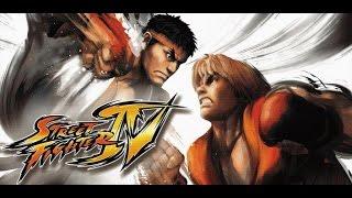 Street Fighter IV rodando no Xbox one via Retrocompatibilidade.Campanha completa do personagem Ken.