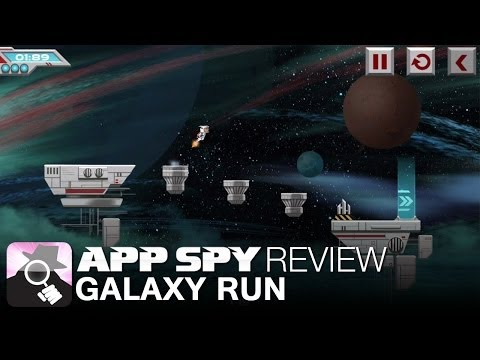 www.appspy.com - Galaxy Run iOS iPhone / iPad Gameplay Review. Visit http://www.appspy.com for more great iPhone and iPad game reviews. Approximate Installed Size - 76.4 MB h...