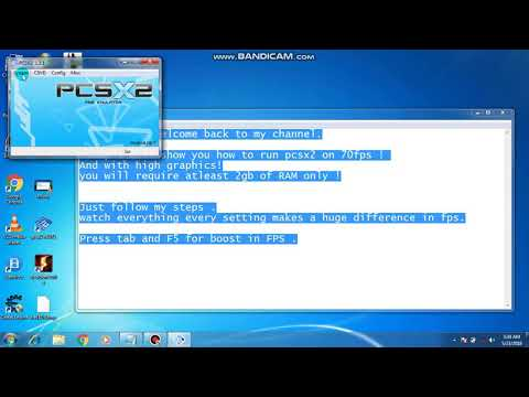 Run Pcsx2 On 70fps With Hd Graphics On Any Pc || By Like And Subscribe || Working 100%