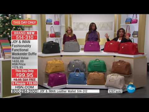HSN | Joy & IMAN: Fashionably Functional 12.03.2016 - 04 PM