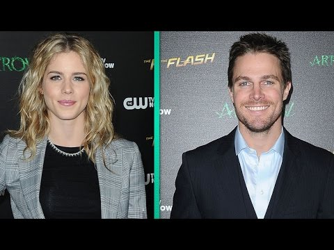 Exclusive: 'arrow' Stars Spill On Oliver And Felicity's 'deep Connection' In Season 5