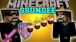 Minecraft: SSUNDEE MOD (DERP SSUNDEE BOSS, INVINCIBLE SHIELD,&MORE!) Team Crafted Mod Showcase