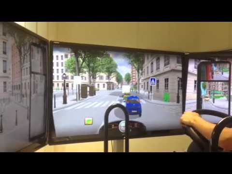 Simulatore di guida alla SIDA
