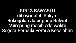 Video Terbaru - Ingat KPU dan Bawaslu dibayar Rakyat, Alumni Perguruan Tinggi se-Indonesia. MP3, 3GP, MP4, WEBM, AVI, FLV April 2019