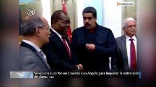 Venezuela suscribe un acuerdo con Angola para impulsar la extracción de diamantes