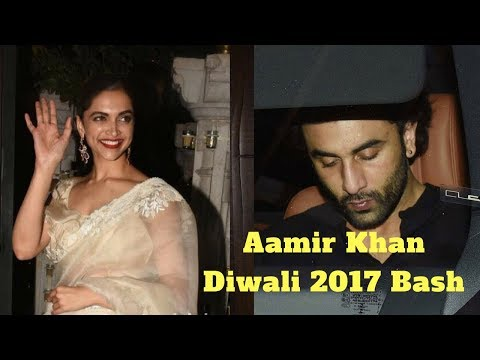 Ex Lovers Deepika Padkone - Ranbir Kapoor At Aamir