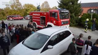 Evakuacijska vaja na OŠ Mala Nedelja