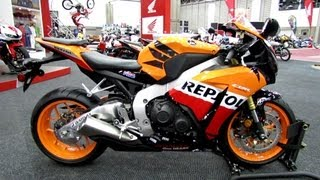 7. 2013 Honda CBR1000RR Repsol - Walkaround - 2013 Quebec City Motorcycle Show