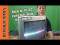 Reparar TV TRC  Linea horizontal. Sin barrido-deflexión vertical