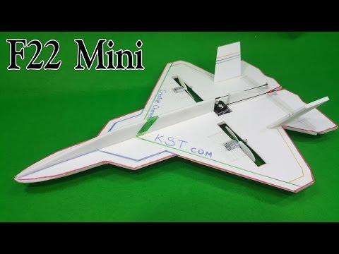 Chế Máy Bay F22 Mini từ TX RX F949 hoặc V911