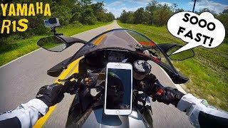 6. Yamaha R1S First Ride & Wheelies