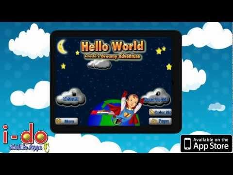 Hello World Idodo's Dreamy Adventure - Interactive Children's Book