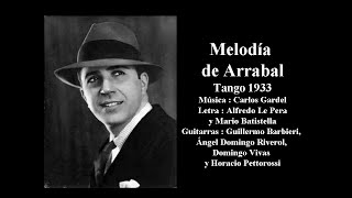 Download Lagu Carlos Gardel - Melodía de arrabal - Tango Mp3