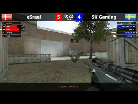 FCL 3rd place: SK Gaming vs eSrael de_forge