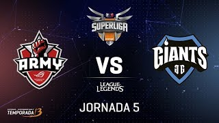 SUPERLIGA ORANGE - ASUS ROG ARMY VS GIANTS ONLY THE BRAVE - Mapa 1 - #SUPERLIGAORANGELOL5