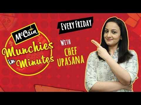 Rajshri Food & McCain Present MUNCHIES IN MINUTES with Upasana Shukla | Every Friday on Rajshri Food
