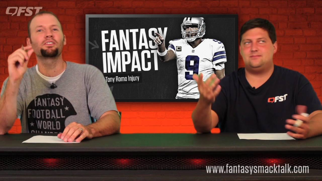 2016 Fantasy Football Impact of Tony Romo Injury thumbnail