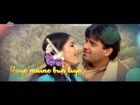 Lyrical : Kajal Kajal Teri Aankhon Ka | Song With Lyrics | Sonali Bendre, Suniel Shetty | Sapoot