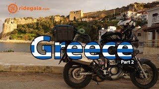 Motorcycle travelling in Greece Peloponnesos (part1)