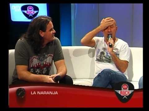 La Naranja video Entrevista CM Rock - Mayo 2015