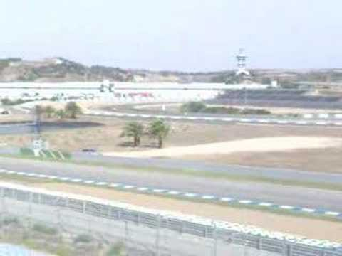Accidente Liuzzi F1 Jerez