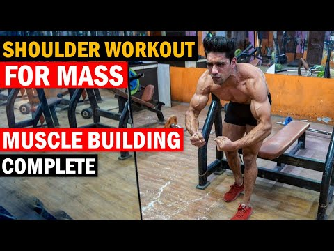 Fat burner - WORLD'S BEST SHOULDER WORKOUT for Muscle Building (Hindi)