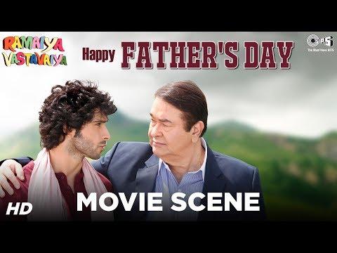 Father-Son Movie Scene - Ramaiya Vastavaiya   Comedy Scene   Randhir Kapoor & Girish Kumar