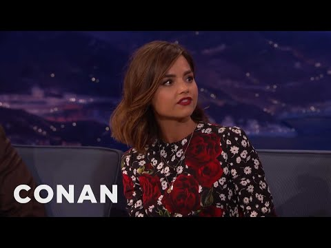 Jenna Coleman explains Doctor Who to Conan O'Brien