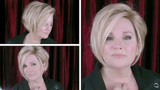 Video NEW! Gabor SHEER ELEGANCE Wig CHAT in SS Sandy Blonde / GL14-22SS Wig Review / Styling OPTIONS MP3, 3GP, MP4, WEBM, AVI, FLV Juni 2018