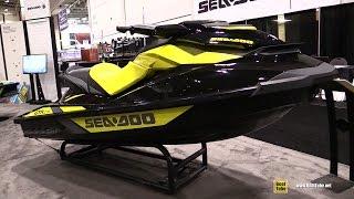 4. 2016 Sea Doo GTR 215 Jet Ski - Walkaround - 2016 Toronto Boat Show
