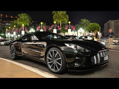 Aston Martin One 77 - Driving around in Monaco!