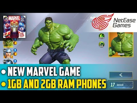 Marvel Super War Android Gameplay   New Moba Game Like Mobile Legends