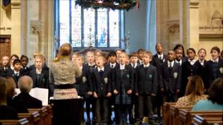 Carol Service 2016 - The Junior Choir Sings 'Christmas Comes to Town'.