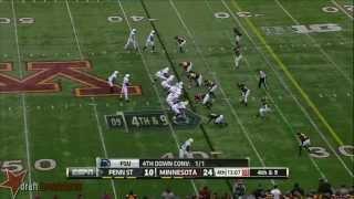 John Urschel vs Minnesota (2013)