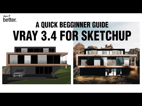 Vray 3.4 for Sketchup for Beginners/ Quick Start