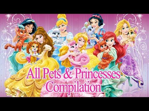 Disney Princess Palace Pets - All Pets & Princesses Compilation NEW 2015