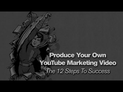 Create Your Own YouTube Marketing Video – 12 Steps To Success | Plan | Script | Film | Market