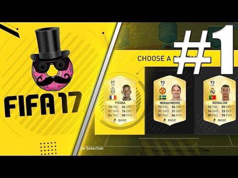 FIFA 17 | FUT DRAFT | Skládání Mužstva+Sestřih 1. Zápasu!! | Xbox One | CZ/SK