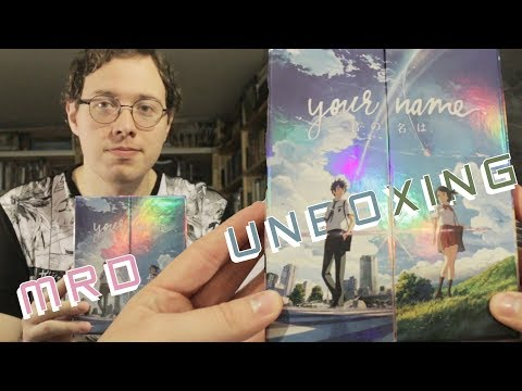 MRD Unboxing - Your Name Limited Edition Blu-ray + DVD + CDs (Kimi no Na Wa)