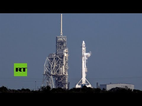 SpaceX lanza el primer cohete reciclado para la NASA_Űrhajó videók