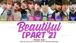 Video WANNA ONE (워너원) – BEAUTIFUL (PART 2 ver.) (Color Coded Lyrics Eng/Rom/Han/가사) MP3, 3GP, MP4, WEBM, AVI, FLV Juni 2019