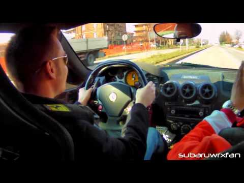 scuderia - While in Maranello, I had the AMAZING experience of driving a Ferrari F430 Scuderia!! I break the tires loose multiple times, go full throttle and get the ca...