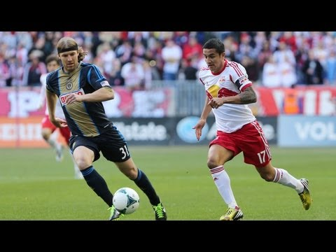 HIGHLIGHTS: New York Red Bulls vs Philadelphia Union | March 30, 2013_Labdargs MLS videk. Legeslegjobbak